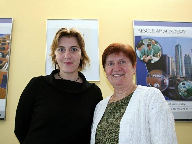 Marie Vacenovská darovala svou ledvinu dceři Jitce, které tím zachránila život.