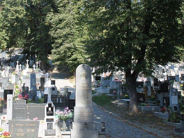 Hřbitov v Bučovicích. Ilustrační foto.