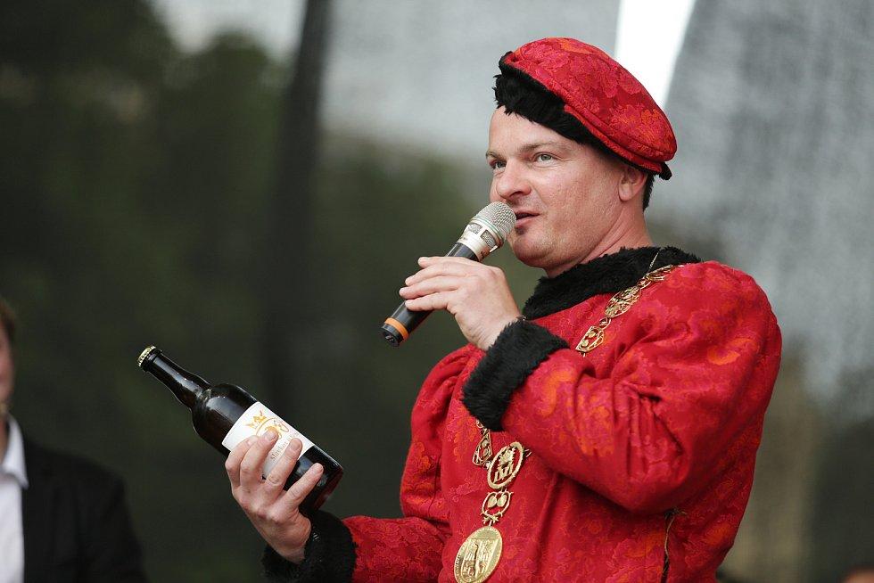 Starosta Slavkova u Brna Michal Boudný.