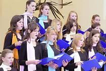 Vystoupení slovenského souboru Pro Musica ve Hřbitovním kostele Panny Marie ve Vyškově.