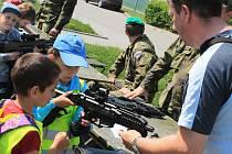 Den dětí v prostorách vyškovské Vojenské akademie se stal tradiční záležitostí.