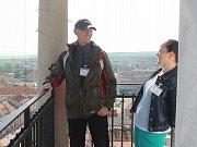 Při příležitosti dne otevřených dveří vyškovské radnice mohli návštěvníci pozorovat Vyškov z ptačí perspektivy nebo obdivovat obřadní síň města.