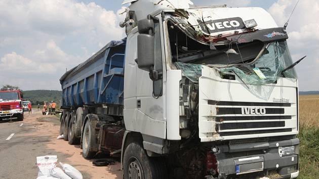 Nehoda u Habrovan se obešla bez zranění.