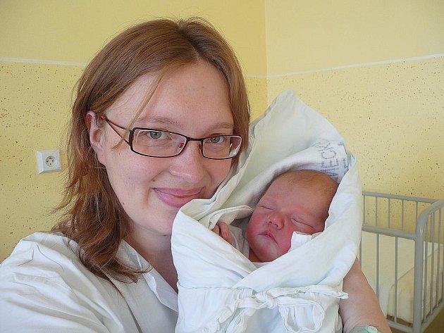 Markéta Kujalová s maminkou Ludmilou, 52 cm, 4,68 kg, 1. prosince 2010, Vyškov