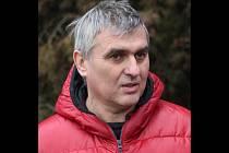Předseda okresního sdružení České unie sportu Jiří Moudrý.