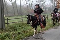 Svatého Huberta si na podzim připomíná řada milovníků koní.  17. října zamíří do Slavkova. Ilustrační snímek.