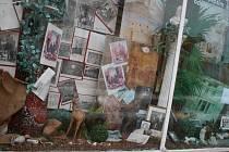 Aloise Musila připomíná i výloha v jednom z domů na vyškovském Masarykově náměstí.