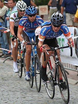 Vyškovské náměstí se na jeden srpnový víkend proměnilo v cyklistickou trať pro celou českou elitu.
