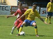 V B skupině I. A třídy prohráli fotbalisté MSK Břeclav B doma s Dražovicemi 0:7.