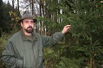 Otakar Pavlík, šéf bučovické lesní správy