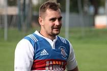Kapitán ragbistů Jimi RC Vyškov Martin Kovář.