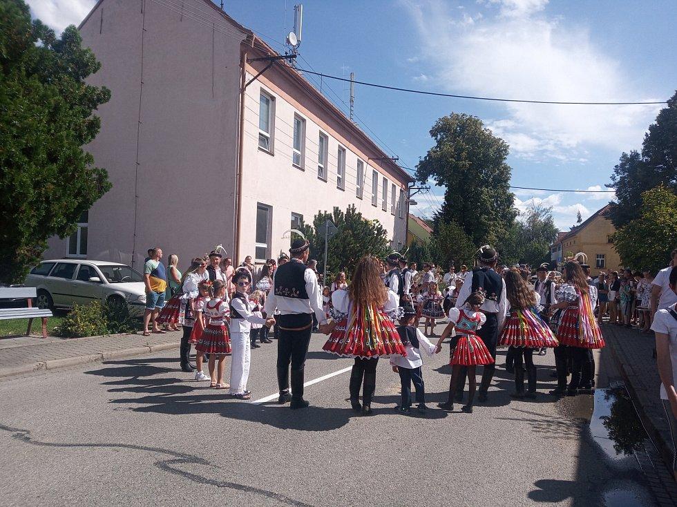 Bartolomějské hody ve Vážanech nad Litavou.