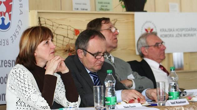 Konference zaměřená na odborné vzdělávání a trh práce ve Vyškově.