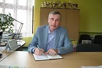 Ředitel vyškovského gymnázia Václav Klement.