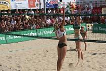Beachový turnaj Super Kooperativa cup ve Slavkově u Brna
