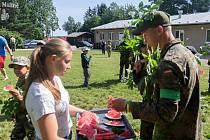 Pobytový tábor s názvem Léto na Malině se konal v termínu 31. července až 9. srpna na táborové základně Malina Ruprechtov.