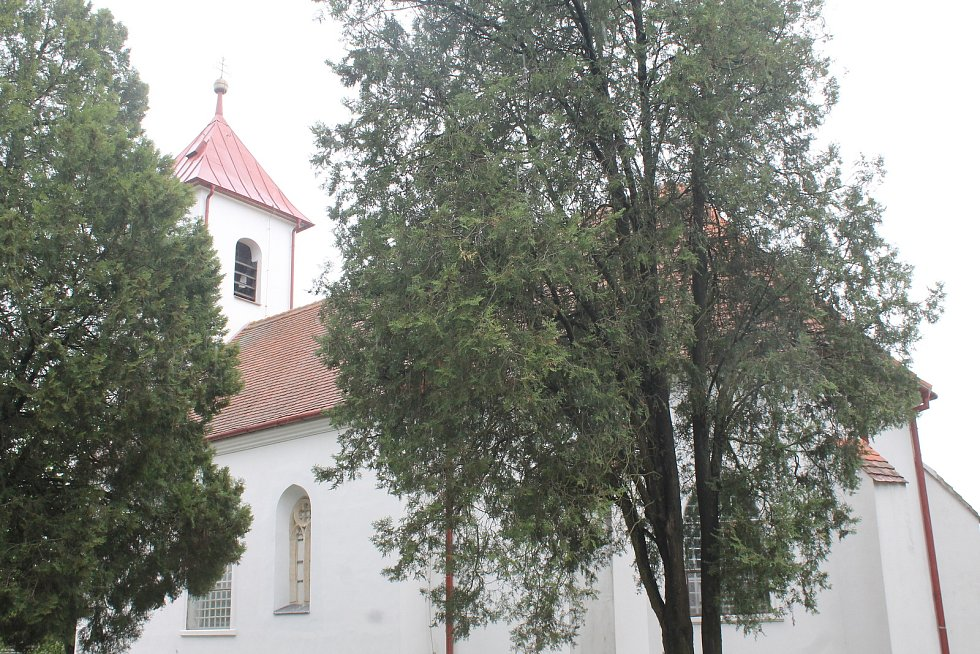 Kostel svatého Bartoloměje.