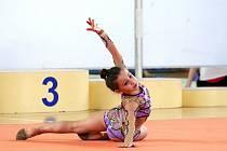 Moderní gymnastky závodily O pohár Vyškova