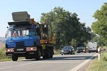 Silnice II/430. Ilustrační foto.