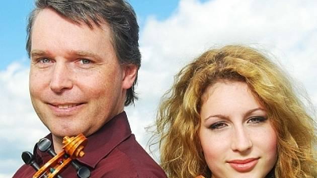 Leoš Zavadilík s dcerou