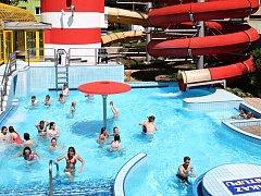 Aquapark Vyškov. Ilustrační foto.