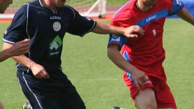 Málo šancí, ale nádherné góly viděli ve Vyškově diváci, kteří přišli na divizní utkání Vyškova s Konicí.