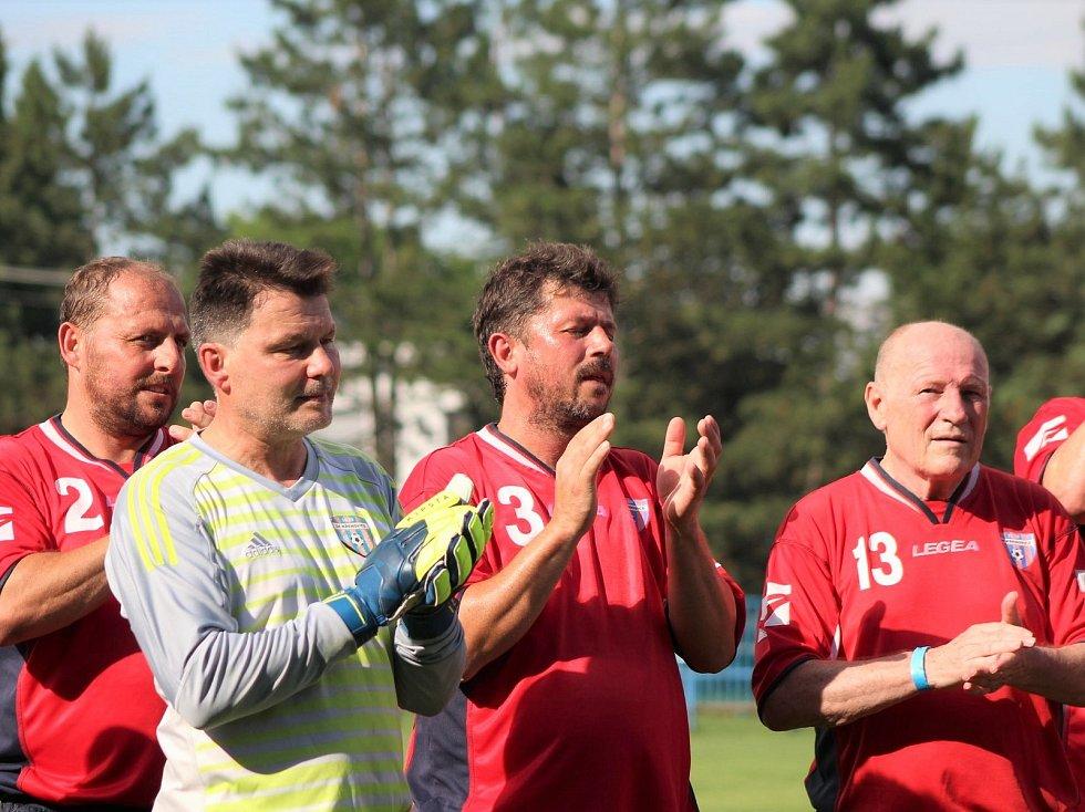 Oslavy 90+1 založení fotbalu v Křenovicích.