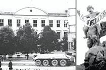 Materiály dokumentující události roku 1968 vystavuje až do sedmnáctého září Muzeum Vyškovska ve Vyškově. Návštěvníci  tam najdou nejenom fotografie, ale třeba i noviny z dané doby.