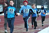 Běžecký seriál Vyškovské míle odstartoval ve Vyškově závodem Běhání se svíčkou.