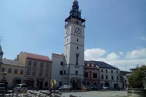 Okresní města na jižní Moravě.