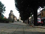 Centrum Ivanovic na Hané čeká příští rok omezení. Hlavní dopravní tepna města se dočká opravy za přibližně 24 milionů korun.