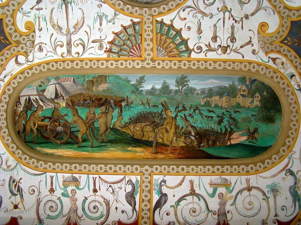 Sály bučovického zámku.