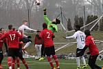 V přípravném fotbalovém utkání dvou účastníků Moravskoslezské ligy porazil MFK Vyškov FK Hodonín vysoko 7:2. Zápas se hrál na vyškovském umělém trávníku.