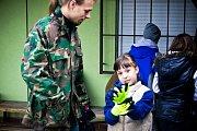 Akce Ukliďme Česko se v Kobeřicích u Brna zúčastnily především místní děti.