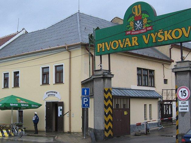 Vyškovský pivovar. Ilustrační foto.