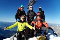 Nejvyšší vrchol Tyrolska Ortler.