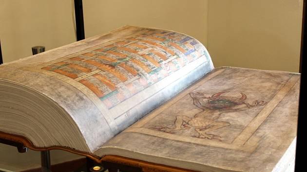 Codex Gigas Ďáblova bible