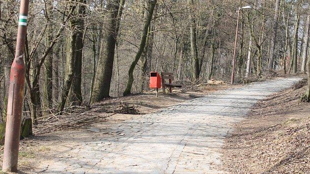 Lesopark Kalvárie v Bučovicích na Vyškovsku.
