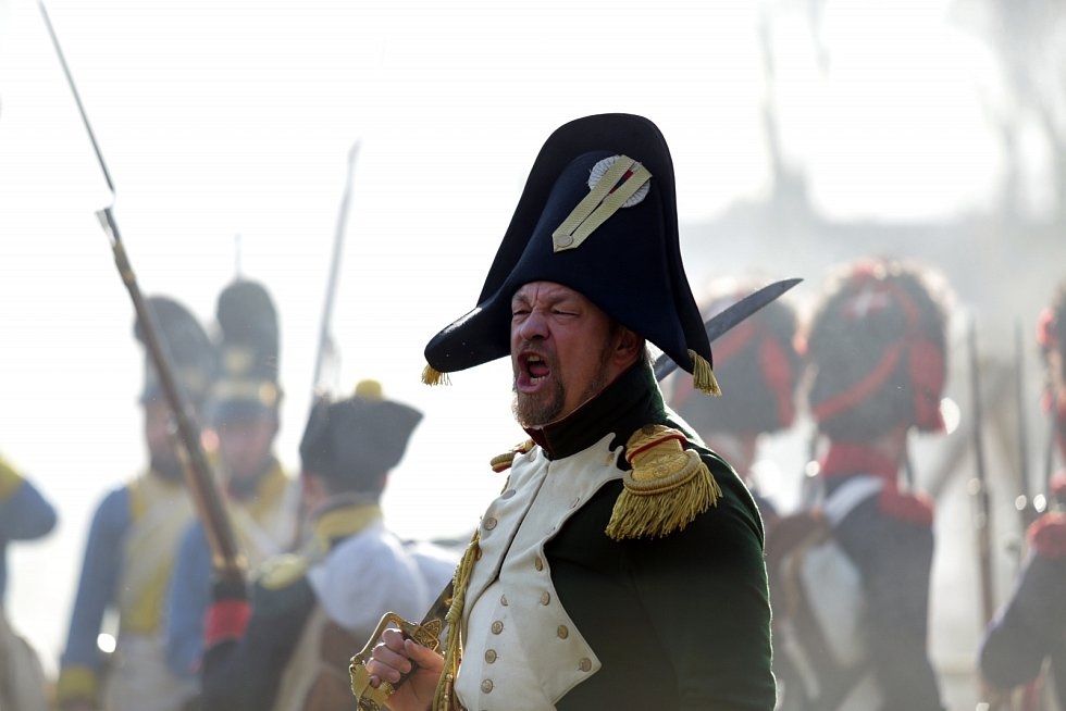 V parku Zámku Slavkov bojovaly armády tří císařů.