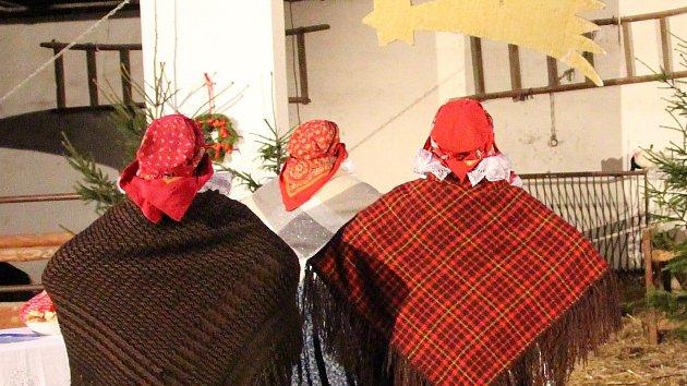 Živý hanácký betlém i Létající jarmark. Ve vyškovské zoo slavili příchod Vánoc