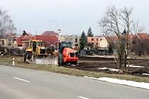 Ve Slavkově u Brna probíhá stavba sterilizační linky Lohmann & Rauscher