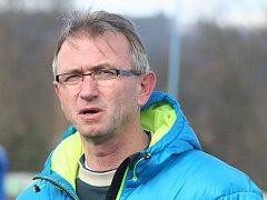 Trenér fotbalistů MFK Vyškov Miloslav Machálek.
