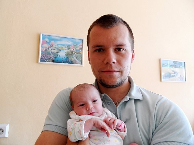 Adriana Vrbacká s tatínkem, 47 cm, 3,000 kg, 21. května 2012, Vyškov