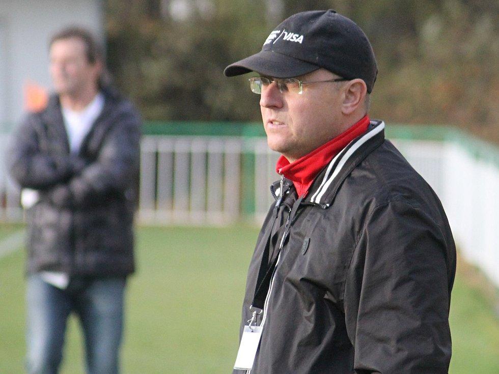 Fotbalový trenér Tomáš Kovanda