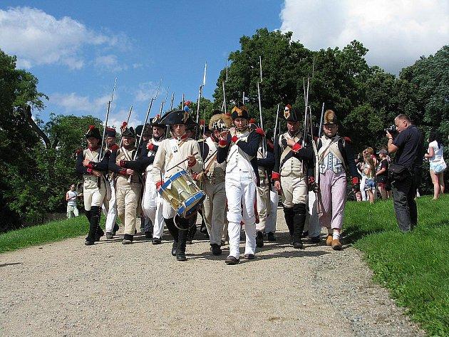 Napoleonské dny ve Slavkově u Brna.