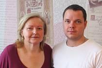 Vyškovská rodinná cukrárna Janský uspěla v regionální soutěži. Se svou Máničkou.