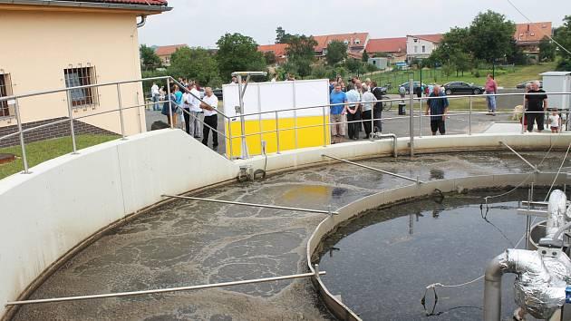 Čístírna odpadních vod pěti obcí dobrovolného svazku Ligary.
