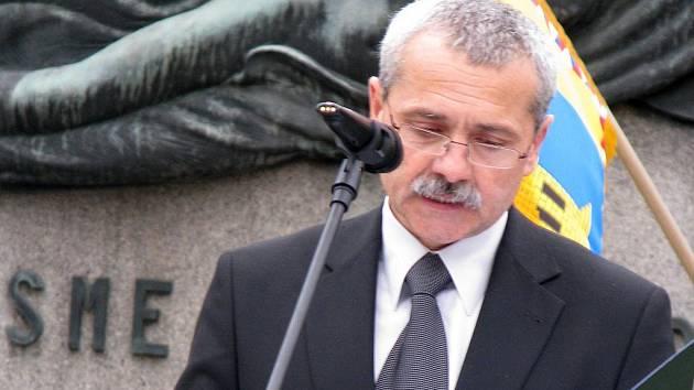 Starosta města Holešova Zdeněk Janalík.