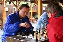 Šachové Nečasovky v bleskové hře ve Vyškově vyhrál Ivan Markovič z Hustopečí, okresním přeborníkem se stal domácí Jaroslav Hejný mladší.