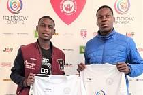 Nové akvizice MFK Vyškov, Daouda Amadou z Kamerunu a Alfred Toussaint Gombe-Fei ze Středoafrické republiky.